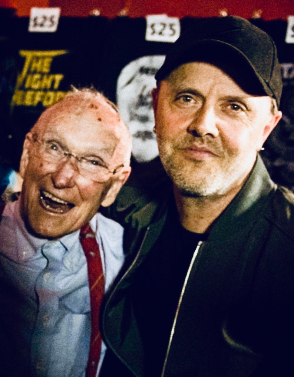 Ray Burton & Lars Ulrich