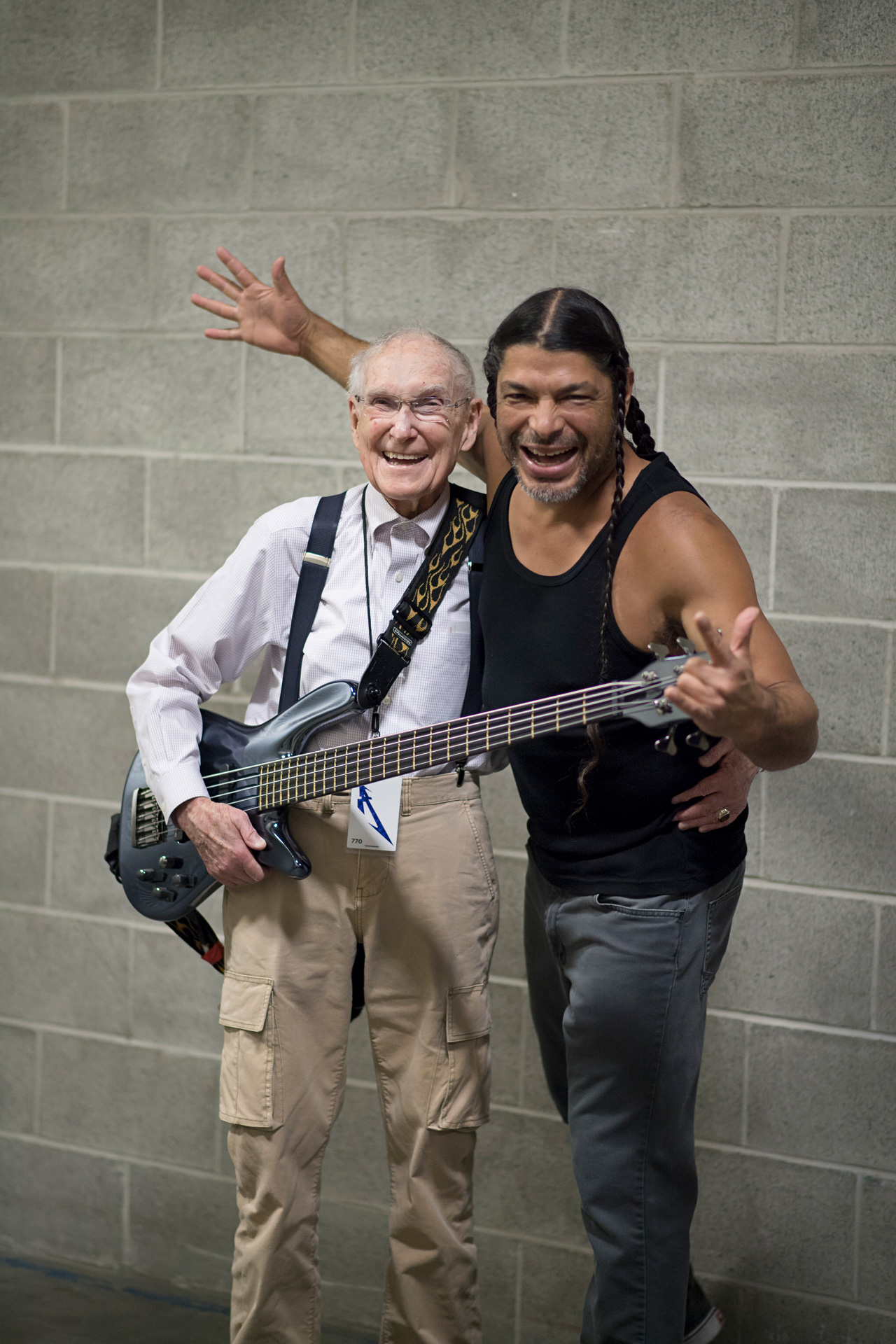 Ray Burton & Robert Trujillo