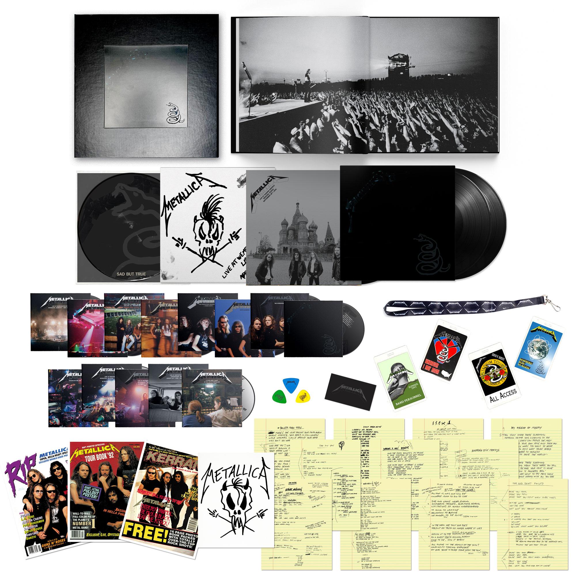 Metallica Remastered. Arrives September 10th.