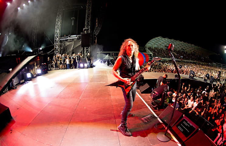 SW! 21.4: Metallica 2014 - Ross Halfin