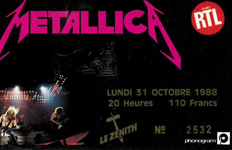 Tour Memorabilia (1988)