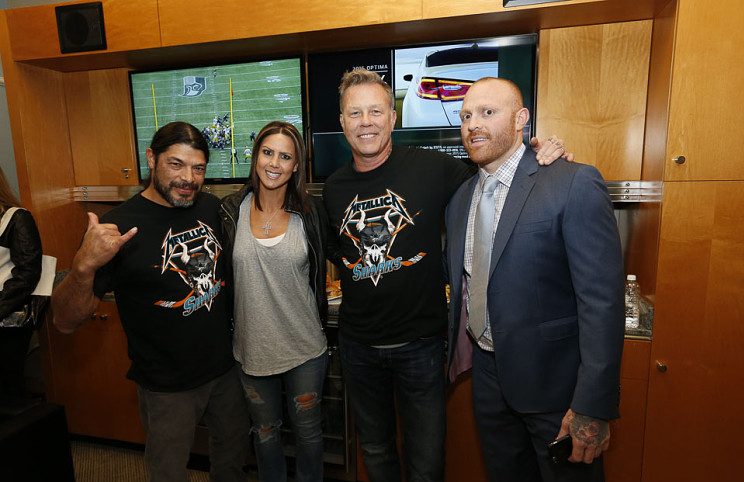 Metallica Night with the San Jose Sharks - Jan 21, 2015